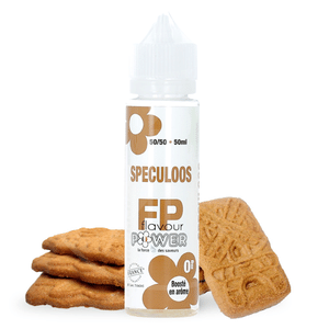 Eliquide 50ml Spéculoos - Flavour Power