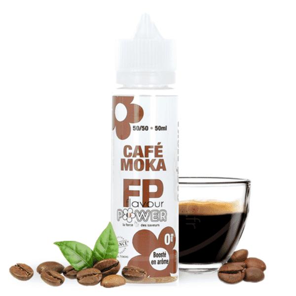 Eliquide 50ml Café Moka - Flavour Power