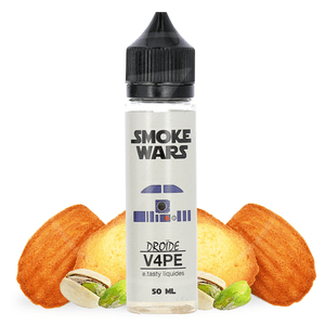 Eliquide 50ml Droïde V4PE - Smoke Wars