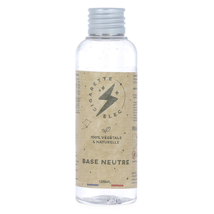 Base 125ml - Cigaretteelec