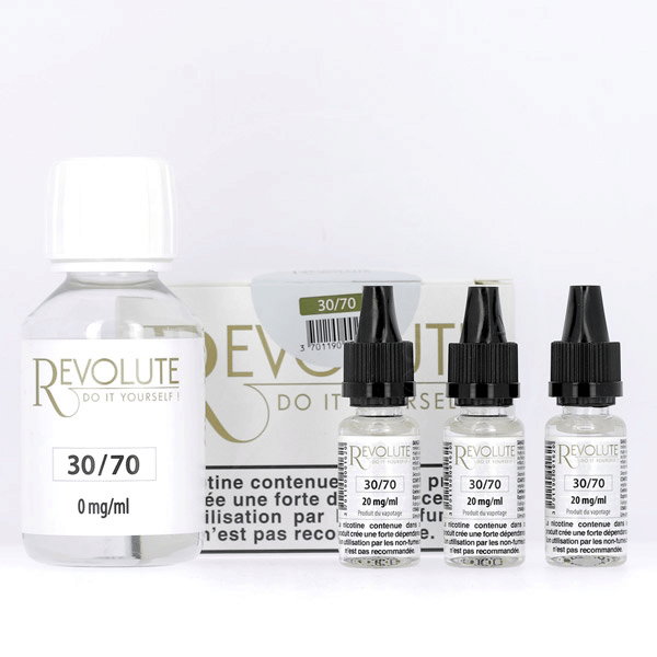 Pack DIY 30% PG / 70% VG 100ml Revolute  image 3