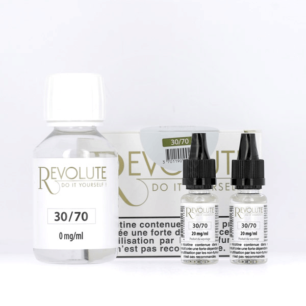 Pack DIY 30% PG / 70% VG 100ml Revolute  image 2