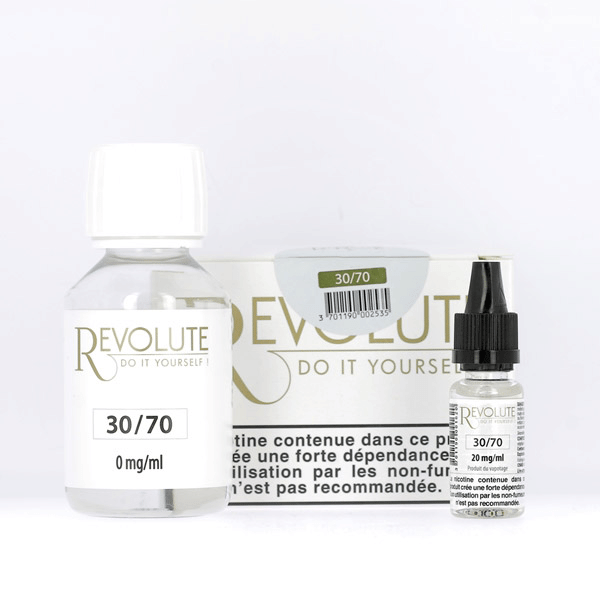 Pack DIY 30% PG / 70% VG 100ml Revolute  image 1
