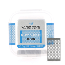 Résistances Mesh V2  Vandy Vape x10