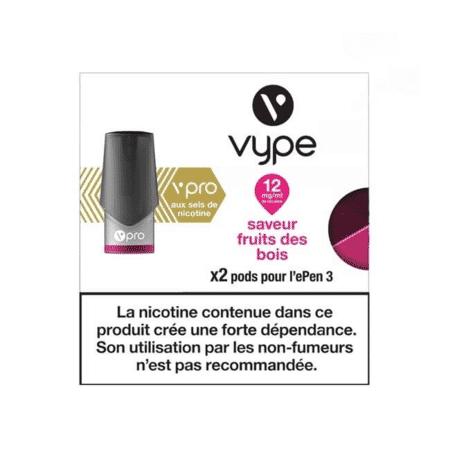Recharge Vype / Vuse Fruits des Bois - Epen (Sels de nicotine) image 2