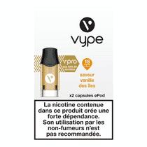 Recharge Vype Vanille des Iles EPOD