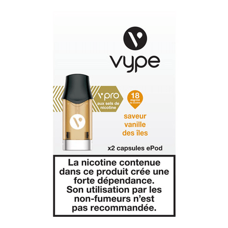 Recharge Vype / Vuse Vanille des Iles EPOD image 3