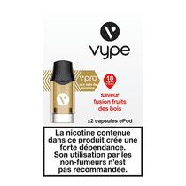Recharge Vype Fusion Fruits des Bois EPOD