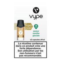 Recharge Menthe Glaciale Vype Epod