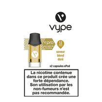 Cartouches Epod Vpro Blend Doré Vype (x2)