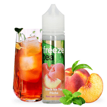 E -liquide Black Ice Tea Pêche 50 ml  - Freeze Tea
