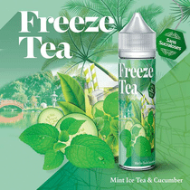 E -liquide Mint Ice Tea & Cucumber 50 ml  - Freeze Tea