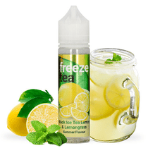 E -liquide Black Ice Tea Lemon & Lemongrass 50 ml  - Freeze Tea