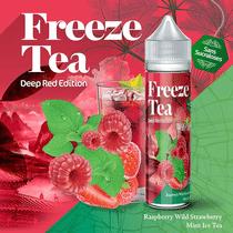Raspberry Mint & Wild Strawberry Ice Tea 50 ml  - Freeze Tea