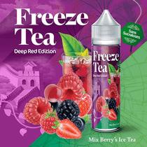 E -liquide Mix Berry's Ice Tea 50 ml  - Freeze Tea