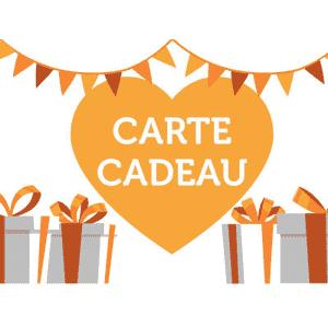 Carte Cadeau (de 20 à 200 €)