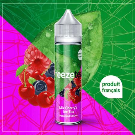 E -liquide Mix Cherry's Ice Tea 50 ml  - Freeze Tea
