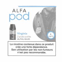 Cartouche Virginia Alfapod (x2) Alfaliquid