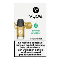 Recharge Vype Ice Caramélisée EPOD