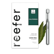 Pack Vape Pen Reefer CBD California - Marie Jeanne