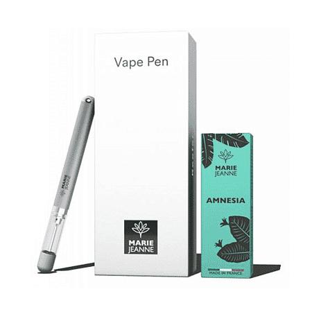 Pack Vape Pen Reefer + 1 E Liquide CBD Amnesia - Marie Jeanne