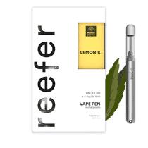 Pack Vape Pen Reefer Lemon Kush CBD - Marie Jeanne