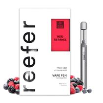 Pack Vape Pen Reefer Red Berries CBD - Marie Jeanne
