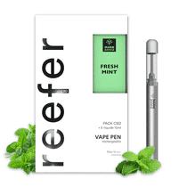Pack Vape Pen Reefer Fresh Mint CBD - Marie Jeanne