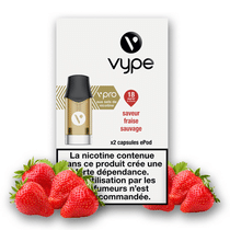 Recharge Vype Fraise Sauvage EPOD