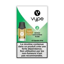 Recharge Vype Concombre Fruité EPOD