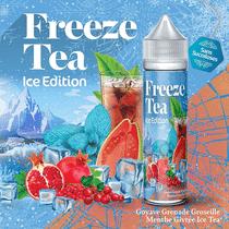 E-Liquide Goyave Grenade Groseille Menthe Givrée Ice Tea 50 ml  - Freeze Tea