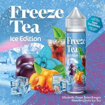 E-Liquide Mirabelle Prune Baies Rouges Ice Tea 50 ml  - Freeze Tea