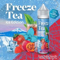 E-Liquide Fraise Tagada Tamarillo Menthe Givrée Ice Tea 50 ml  - Freeze Tea