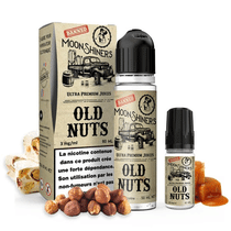 E Liquide Old Nuts 50ml (+ 1 ou 2 Boosters de Nicotine) - Moonshiners