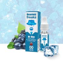 E Liquide Mr Blue - Réservoir Freaks