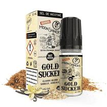 E Liquide Gold Sucker 10ml (Sels de Nicotine) - Moonshiners