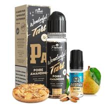 Poire Amandine 60ml (+ 1 Booster de Nicotine) - Wonderful Tart