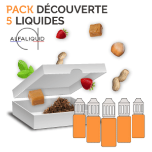 Pack Découverte Alfaliquid