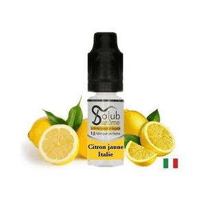 Arôme Citron Jaune Italie Solubarome