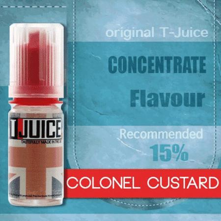 Arôme Colonel Custard 10ml Tjuice image 2