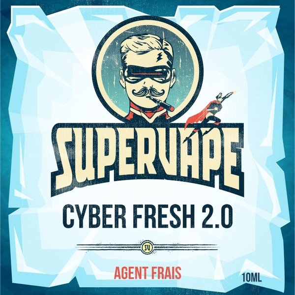 Additif Cyber Fresh Supervape image 2